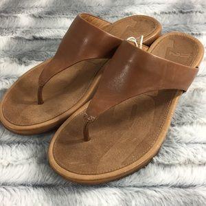 NWOT FitFlop Banda Sandals - Tan